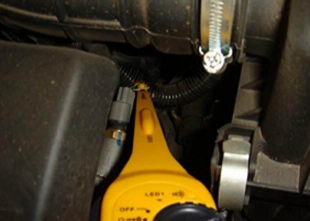 Простота измерения на автомобиле