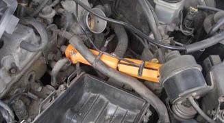 Магнитный активатор топлива на Хонда цивик