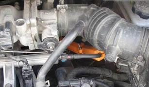 Магнитный активатор топлива на Мазда 323
