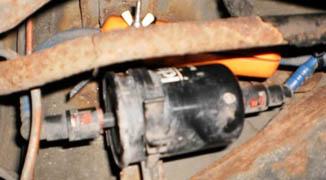 Магнитный активатор топлива на Опель Вектра