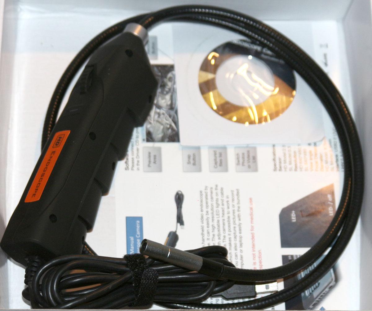 недорогой USB эндоскоп HD
