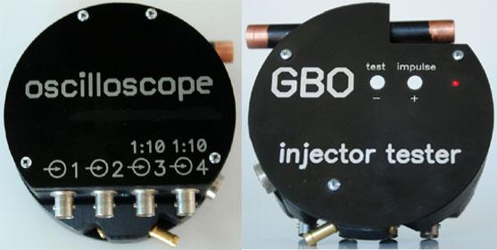 Внешний вид стенда газовых форсунок GBO tester